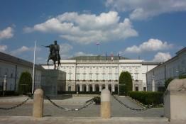 Warszawa Atrakcja Warto zobaczyć Pałac Prezydencki