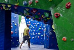 Warszawa Atrakcja Ścianka wspinaczkowa Crux Boulder