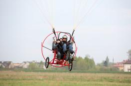 Warszawa Atrakcja Lot motoparalotnią Paraelement