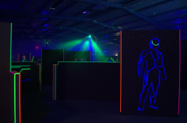Warszawa Atrakcja Paintball laserowy Boar laser tag