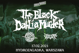 Warszawa Wydarzenie Koncert The Black Dahlia Murder + Rings Of Saturn