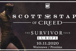 Warszawa Wydarzenie Koncert Scott Stapp of Creed