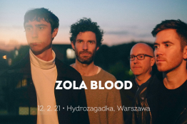 Warszawa Wydarzenie Koncert Zola Blood