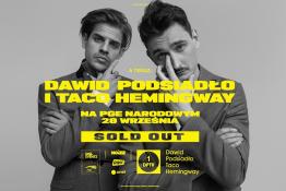 Warszawa Wydarzenie Koncert Dawid Podsiadło i Taco Hemingway na PGE Narodowym