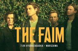 Warszawa Wydarzenie Koncert The Faim: 7.09.2019 Warszawa, Hydrozagadka