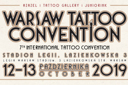 Warszawa Wydarzenie Zlot Warsaw Tattoo Convention 2019