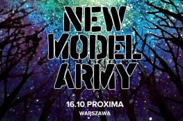 Warszawa Wydarzenie Koncert New Model Army: 16.10.2019 Warszawa, Proxima